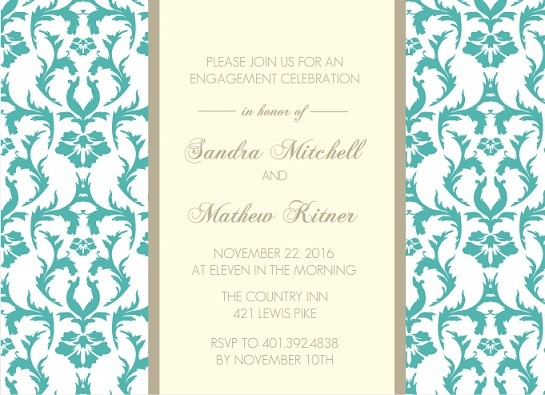 Engagement Party Invitations Ideas Engagement Party Ideas