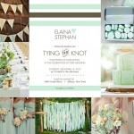 Spring Wedding Inspiration mint green