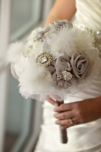 Glamour Wedding Bouquet