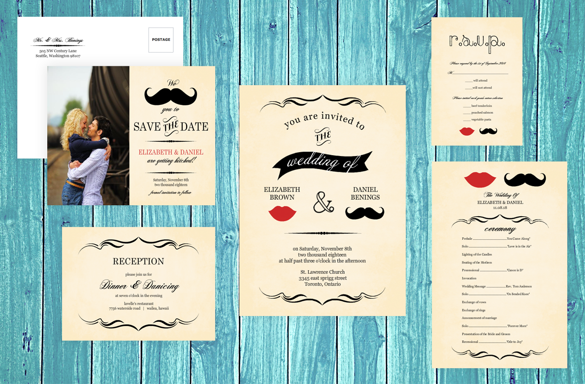 Vintage Wedding Ideas: Retro Decor, Attire, Invitations ...